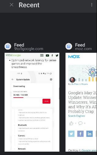 Turn Off Individually Google Feed Android