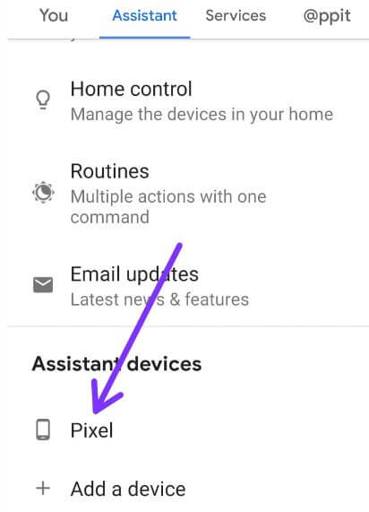 Turn off voice assistant