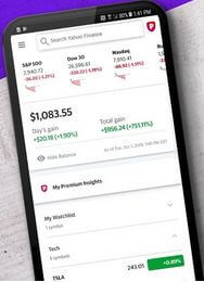 Yahoo Finance App For Android Devices