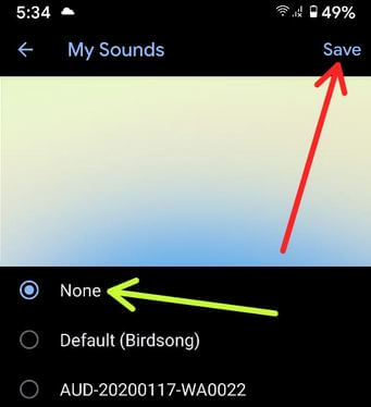 Disable Notification Sound on WhatsApp Group Android Phone and Tablet