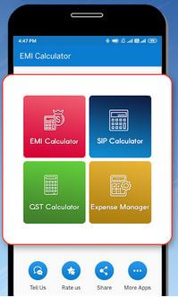 EMI calculator App For Android