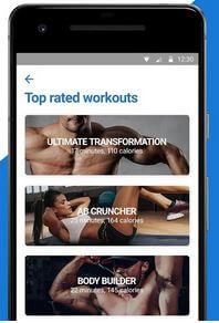 Fitness Buddy workout App for Android