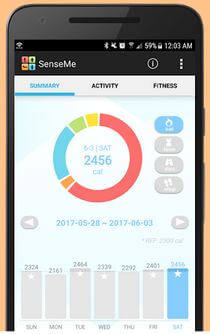 Fitness Tracker app for Android Devices