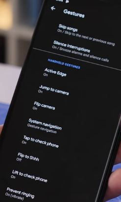 How to use gestures in Pixel 4 and 4 XL