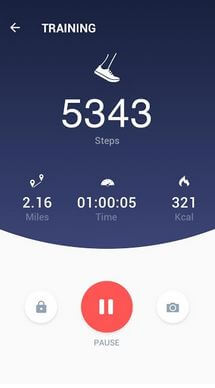 Pedometer app for Health Android