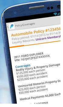 Progressive Insurance Policy App For Android
