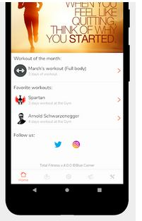 Total Fitness Gym Training App for Android