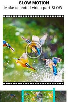 Video speed changer slow motion app for Android