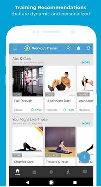 Workout Trainer Home Fitness App For Android
