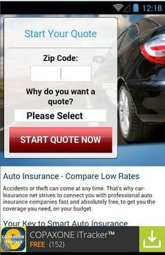 Car Quote App For Android