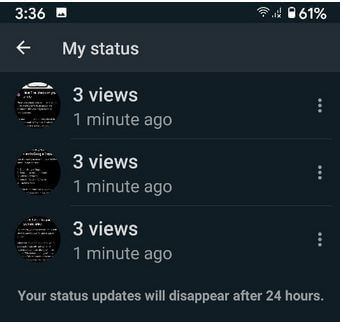 Check View Can See Your WhatsApp Status