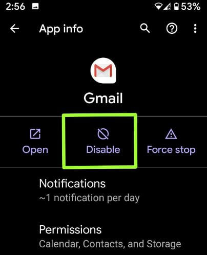 Delete preinstalled apps on android 10