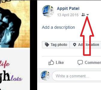 Hide Facebook Profile Picture using computer