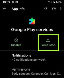 How to Fix Unfortunately Google Play Services Has Stopped Working