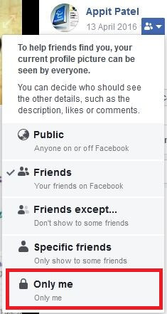 How to Hide Facebook Account From Public Search
