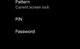 How to change lock screen password on Android 10