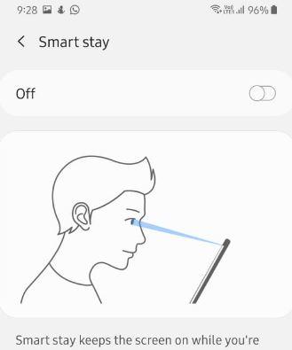 Samsung A50 gestures