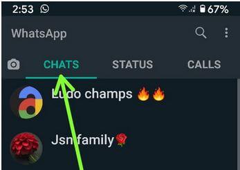 WhatsApp Group Admin change using chat settings