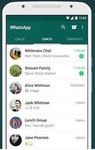 WhatsApp messenger Social media App For Android