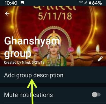 Whatsapp Group Discussion on your Android