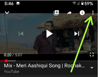 Change video quality on YouTube App Android