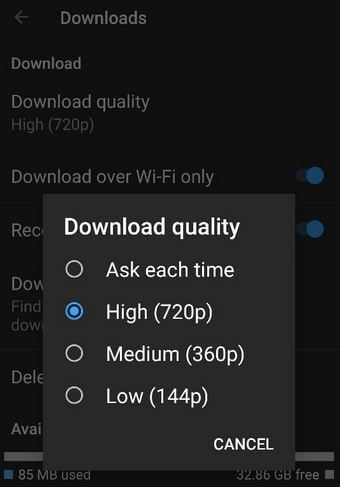 How to Change Download YouTube Video Quality on Android