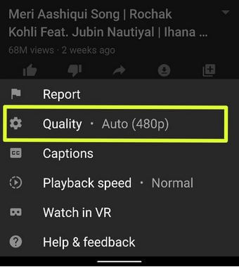 How to Change YouTube Video Quality on Android