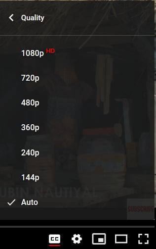 How to Enable 1080p on YouTube on PC