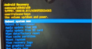 How to boot recovery mode on Samsung Galaxy A50