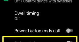 How to use auto rotate on Android 10