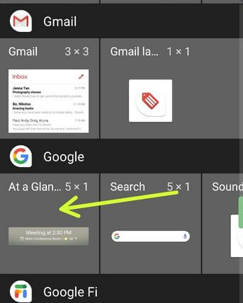 Use Google At a Glance Widget on Any Android
