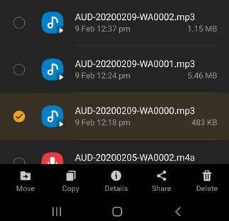 How to set custom ringtone in Samsung A50