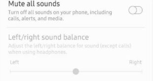 How to turn off all sounds on Samsung A50