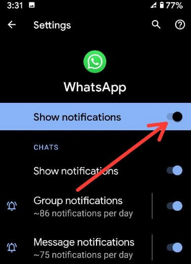 How To Turn Off Notifications On Pixel 3a