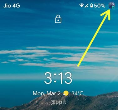 Change profile photo in Android lock screen