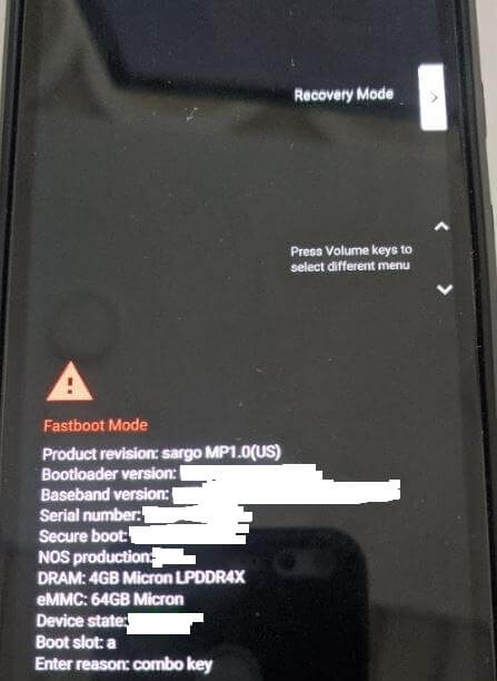 How to Wipe Cache Partition on Google Pixel 3a XL