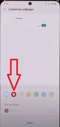 Change Text Message Background Image in Samsung S20 Ultra