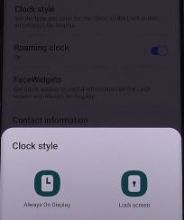 How to Change the Clock Style on Galaxy S20 Ultra, S20 Plus, and S20
