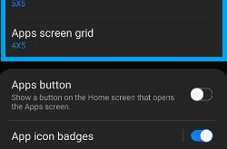 How to change Home and App Grid Size on Galaxy S20 Ultra, S20 Plus, and S20