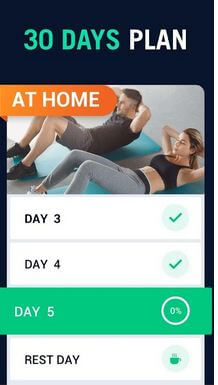 30 day Fitness Challenge Workout app