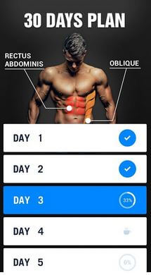 Abs Workout App for Android