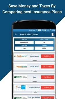 Compare & Buy Insurance Online Policy For Android