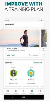 Adiddas Fitness tracker App For Android phone
