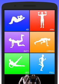 Daily Workouts App For Android Smartphone