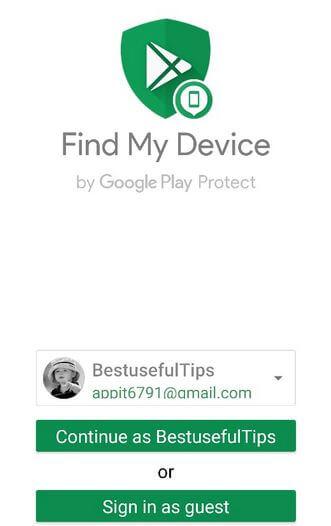 Find My Google Pixel 3a