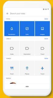 Google Keep Android Wear OS App