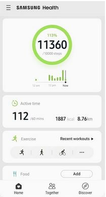 Samsung Health Best Fitness Tracker Apps For Android