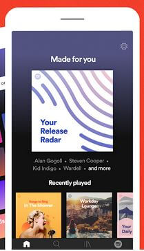 Spotify Android Wear OS App