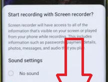 How to record a screen on Galaxy Note 20 Ultra