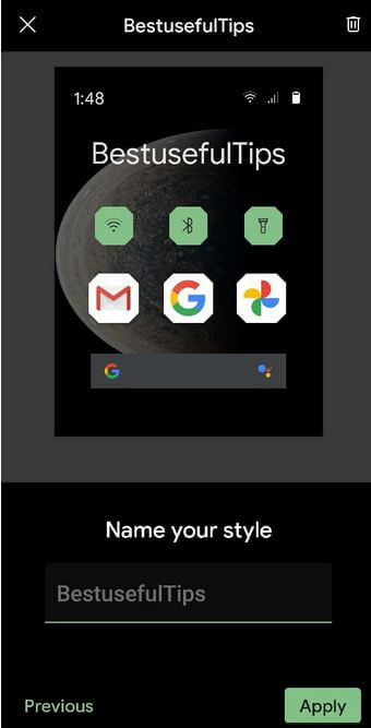 How to Change Home Screen Styles Pixel 4a